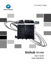 konica minolta bizhub 751 manuals rh manualslib com Konica Minolta Bizhub C353 Konica Minolta Bizhub 751 Copier