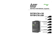 Mitsubishi Electric FR-F720P-1.5K Instruction Manual