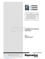 raymarine c125 manuals rh manualslib com raymarine radar owners manual raymarine c120 owners manual