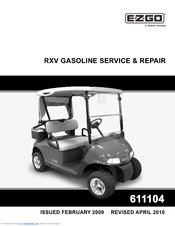 Ezgo RXV GASOLINE Manuals