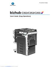 bizhub c253 printer user manual free owners manual u2022 rh wordworksbysea com konica minolta c3850 user manual konica minolta c1070 user manual