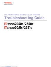 toshiba e studio 2050c manuals rh manualslib com toshiba e studio 2050c service manual Toshiba C6520 Service Manuals