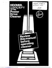 hoover elite vacuum cleaner manual