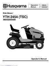 husqvarna yth2454 manuals rh manualslib com Husqvarna 2454 Lawn Tractor Husqvarna YTH2454 Drive Belt Diagram