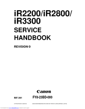 canon ir3300 series manuals rh manualslib com canon ir 3300 user guide pdf Online User Guide