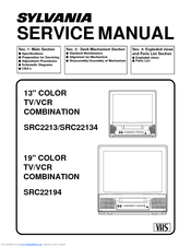 sylvania src2213 manuals rh manualslib com Service Station Repair Manuals