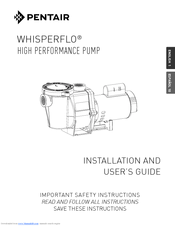 pentair whisperflo manuals rh manualslib com pentair whisperflo parts diagram pentair whisperflo xf manual