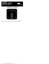 cor wifi thermostat wiring diagram carrier tp wem01 installation instructions manual pdf download  carrier tp wem01 installation