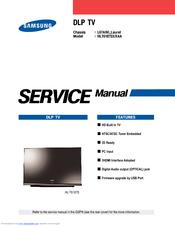 Samsung Hlt6187sx Service Manual Pdf Download Manualslib