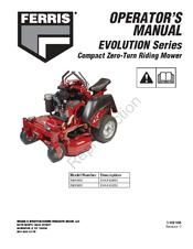 FERRIS EVOLUTION SERIES OPERATOR'S MANUAL Pdf Download