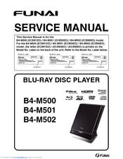 Funai B4-M500 Manuals