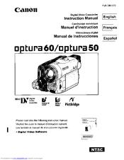 canon optura 60 manuals rh manualslib com Canon Vixia Canon GL2