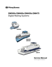 Pitney Bowes DM400c series Service Manual