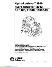 nilfisk advance hydro retriever 2042 manuals rh manualslib com nilfisk advance sc750 manual nilfisk advance sc750 manual