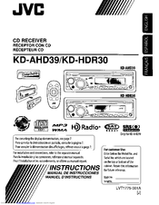 jvc kdhdr30 kd radio cd manuals rh manualslib com jvc kd-hdr1 installation manual JVC KD Pdr50