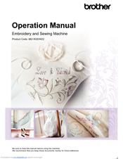 Brother 882-W20/W22 Operation Manual