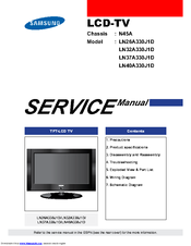 samsung ln32a330j1d manuals rh manualslib com manual tv samsung lcd 32 manual tv samsung lcd 550