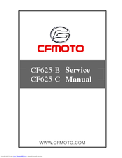 CFMOTO CF625-B SERVICE MANUAL Pdf Download