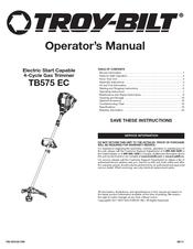 troy bilt tb575 ec manuals rh manualslib com
