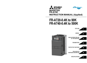 Mitsubishi Electric FR-A720-0.4K Instruction Manual