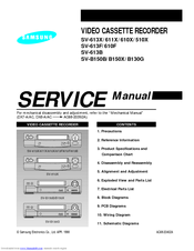 Samsung SV-611X Service Manual