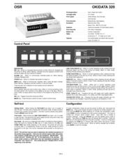 okidata microline 320 manuals rh manualslib com okidata 320 turbo service manual okidata 320 turbo manual
