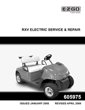 ezgo rxv electric service repair manual pdf download rh manualslib com 2009 Ezgo Golf Cart Transaxle Ezgo TXT Golf Cart