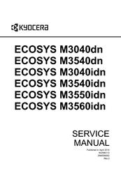 KYOCERA ECOSYS M3040DN SERVICE MANUAL Pdf Download