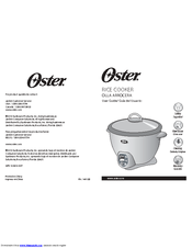 Oster Rice Cooker User Manual
