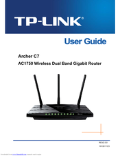TP-LINK ARCHER C7 AC1750 USER MANUAL Pdf Download