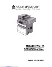 RICOH M126 SERVICE MANUAL Pdf Download