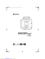 topcon rl h3c instruction manual pdf download rh manualslib com Instruction Manual Book Instruction Manual Book