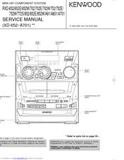 kenwood rxd a81 manuals rh manualslib com Wire Diagram Kenwood KR Series Kenwood User Manuals