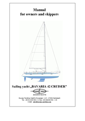 bavaria 42 cruiser manuals rh manualslib com bavaria 38 owner's manual bavaria 46 owners manual