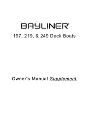 bayliner 197 owner\u0027s manual pdf download Bryant Boats