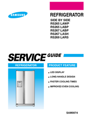 samsung rs265 lawp manuals rh manualslib com samsung rs265tdrs service manual pdf samsung refrigerator rs265tdrs repair manual
