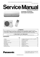 panasonic cs e9ckp service manual pdf download rh manualslib com notice telecommande panasonic inverter r410a notice panasonic inverter r410a