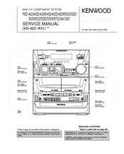 kenwood rxd a51 manuals rh manualslib com Kenwood Instruction Manual Wire Diagram Kenwood KR Series