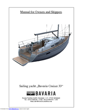 bavaria cruiser 33 manuals rh manualslib com owner's manual bavaria 36 bavaria 33 owner's manual