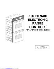 KitchenAid KERC507B Reference Manual