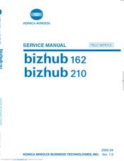 Konica Minolta Bizhub 210 Manuals Manualslib