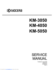 Kyocera KM-5050 Service Manual