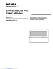 Toshiba BMS-SM1280HTLE Owner's Manual