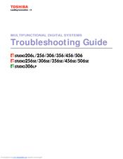 toshiba e studio 456 series manuals rh manualslib com Toshiba E Studio 456 Inner Finisher With Toshiba E Studio 456 Scan to Email