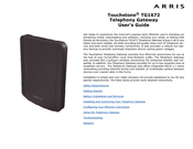 arris touchstone tg1672 user manual pdf download rh manualslib com Arris TG852G Tg1672 Manual