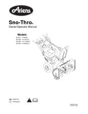 Ariens 921002 St1027le Manuals