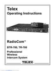 telex radiocom tr 700 manuals rh manualslib com