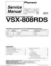 pioneer elite vsx 01txh manual