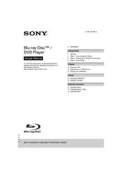 sony bdp s6700 instruction manual