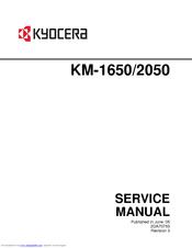 Kyocera KM-2050 Service Manual